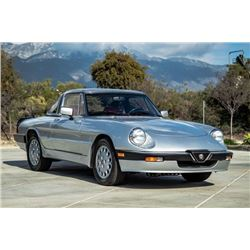 FRIDAY 1987 ALFA ROMEO SPYDER