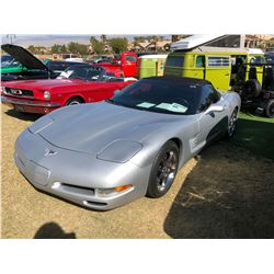 2003 CHEVROLET CORVETTE C-5 SERIES  50th ANNIVERSARY EDITION CONVERTIBLE