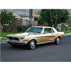 1968 FORD MUSTANG DELUXE J CODE