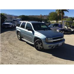 NO RESERVE 2006 CHEVROLET TRAILBLAZER LS