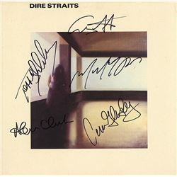 The Dire Straits Signed Self Titled Album