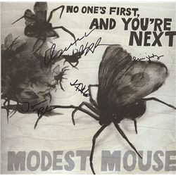 "Modest Mouse Band Signed ""No Ones First, And You're Next Album"""