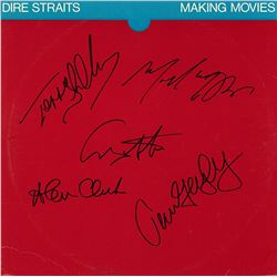 "Dire Straits Signed ""Making Movies Album"""