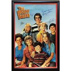 Brady Bunch Signed Photo
