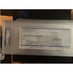 PSA/DNA Belinda Carlisle Signed Check