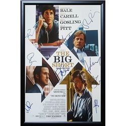 Big Short Signed Movie Poster