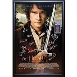 The Hobbit An Unexpected Journey - Signed Movie Poster