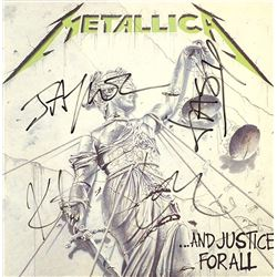 "Metalllica ""And Justice For All"" Signed Album"