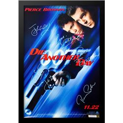 """James Bond """"Die Another Day"""" Signed Movie Poster"""