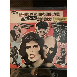 PSA/DNA Tim Curry Signed Rocky Horror Picture Show Album