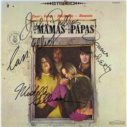 The Mamas and the Papas Signed Self-Titled Album