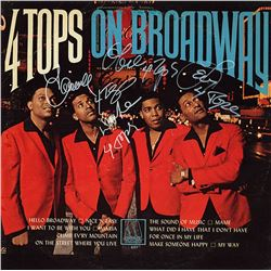 The Four Tops On Broadway Album