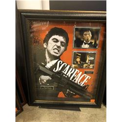 Pacino Signed Scarface Photo Collage