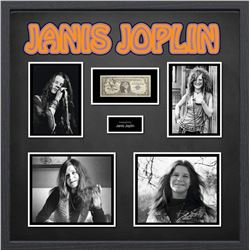 United Stated Silver Certificate Signed by Janis Joplin