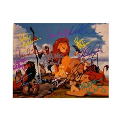 The Lion King Signed Photo