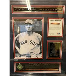 Babe Ruth Piece of Game Used Bat w/ PSA
