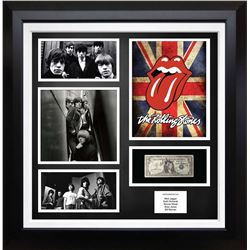United Stated Silver Certificate Signed by The Rolling Stones. Signed by; Mick Jagger, Keith Richard