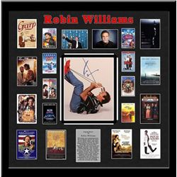 Robin Williams Signed Collage