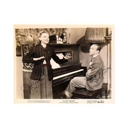 """Judy Garland, Fred Astaire """"Easter Parade"""" Signed Photo"""