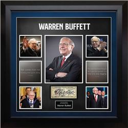 United States Ten Dollar Federal Reserve Note Signed by Warren Buffett
