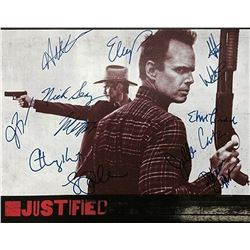 Justified Signed Photo