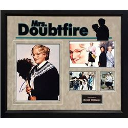 Robin Williams Signed Mrs. Doubtfire Photo