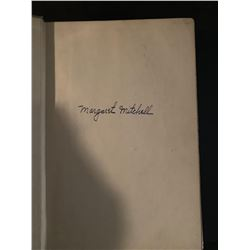 PSA/DNA Margaret Mitchell Signed 1st Edt. Gone With the Wind Book