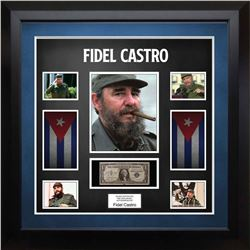 United Stated Silver Certificate Signed by Fidel Castro