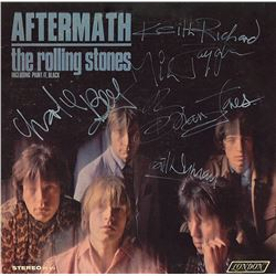 "Rolling Stones ""Aftermath"" Signed Album"