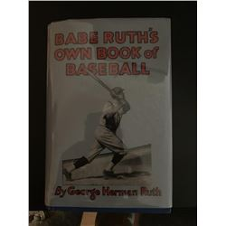 PSA/DNA Babe Ruth Signed Special Edt. Book of Baseball
