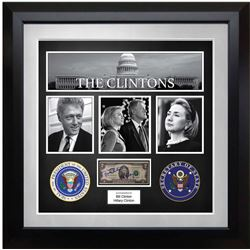 United States Two Dollar Federal Reserve Note Signed by Bill Clinton and Hillary Clinton