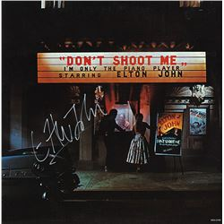 Elton John Signed Don't Shoot Me I'm Only The Piano Player Album