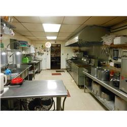 BULK OFFERING: ALL RESTAURANT INVENTORY / EQUIPMENT AND FURNITURE