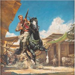 Frank McCarthy, oil on board