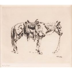 W.R. Leigh, etching