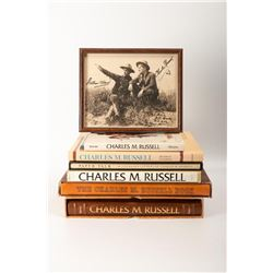 Set of Charles M. Russell Books & Photo