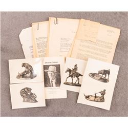 Collection of Charles M. Russell Memorabilia