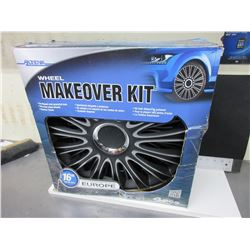 """Alpena Wheel Makeover Kit / 16"""" fits most steel rims / made in Europe"""