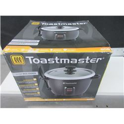 New Toastmaster 10 Cup Rice Cooker / removable bowl with lid / 1 touch