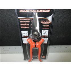 New Industial Scissors Stainless Steel / Cuts Leather - Wire and more