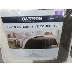 New KING Down Alternative Comforter Super soft and Extra Warm/reverses