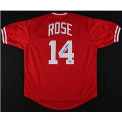 Pete Rose Signed Phillies Jersey (Fiterman Sports Hologram)