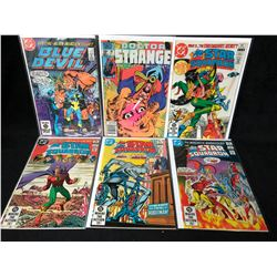 COMIC BOOK LOT (BLUE DEVIL/ DOCTOR STRANGE/ THE ALL-STAR SQUADRON)