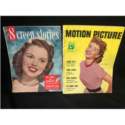 VINTAGE SCREEN STORIES/ MOTION PICTURE MAGAZINE LOT