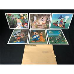 WALT DISNEY LITHOGRAPH LOT (8  X 10 )