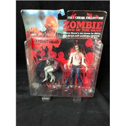 DAWN OF THE DEAD ZOMBIE HATCHET HEAD FIGURE #3