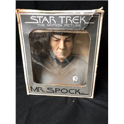 1979 Mr Spock - Grenadier Original - Decanter - Porcelain Bust