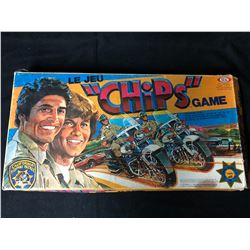 "CHIPS Vintage Board Game ""The Chase Is On"" (RARE)"