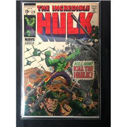 THE INCREDIBLE HULK #120 (MARVEL COMICS)