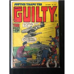 1952 JUSTICE TRAPS THE GUILTY #43 COMIC BOOK